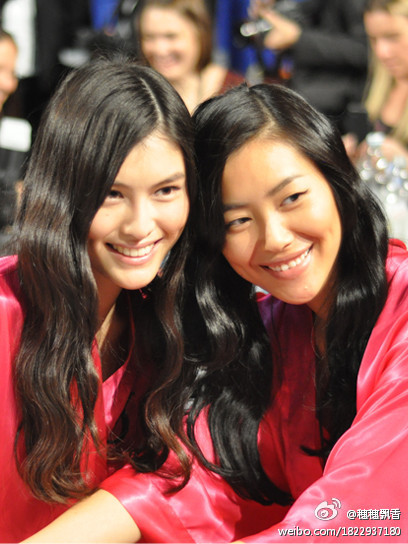 twelfthnight:  Asian Beauty, Sui He & Liu Wen - Victoria Secret Angels