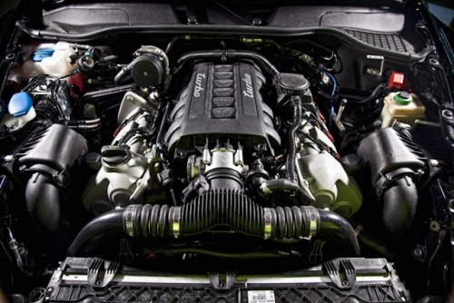Our modified Cayenne Coupe Engine - 720bhp!