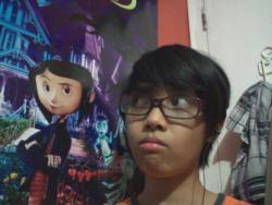 day 346: Coraline is silently judging my new haircut
