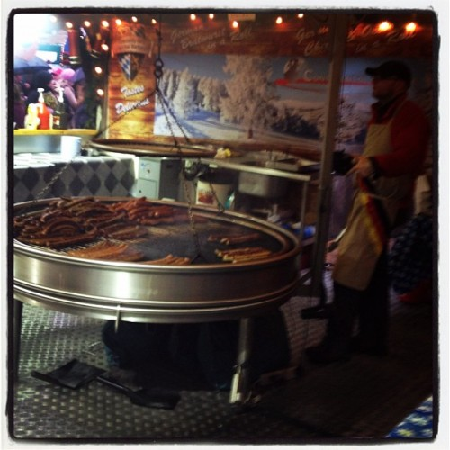 At the Belfast Christkindlmarkt (Taken with Instagram at Christmas Continental Market)