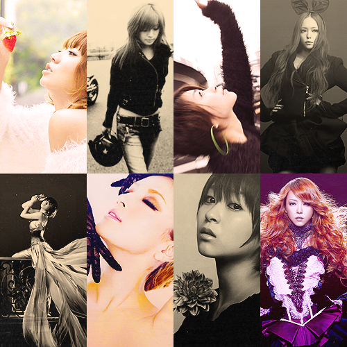 ♥8 favorite pictures of Koda Kumi, Ayumi Hamasaki, Namie Amuro and Utada Hikaru ♥ ♚ Asked by sincerelynyny  YES. PERFECTION.