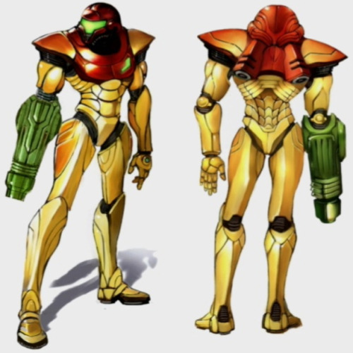 Metroid: Samus Aran I'm late on Samus Saturday…