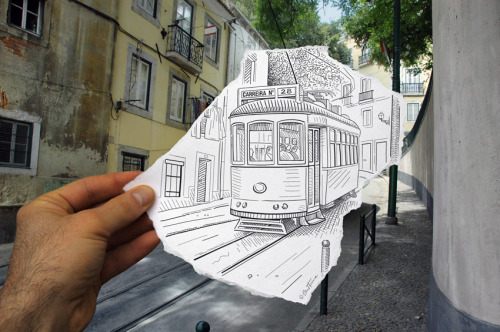 weandthecolor:  Pencil Vs Camera - 4 by Ben Heine. More photography inspiration. posted byW.A.T.C. // Facebook // Twitter // Google+