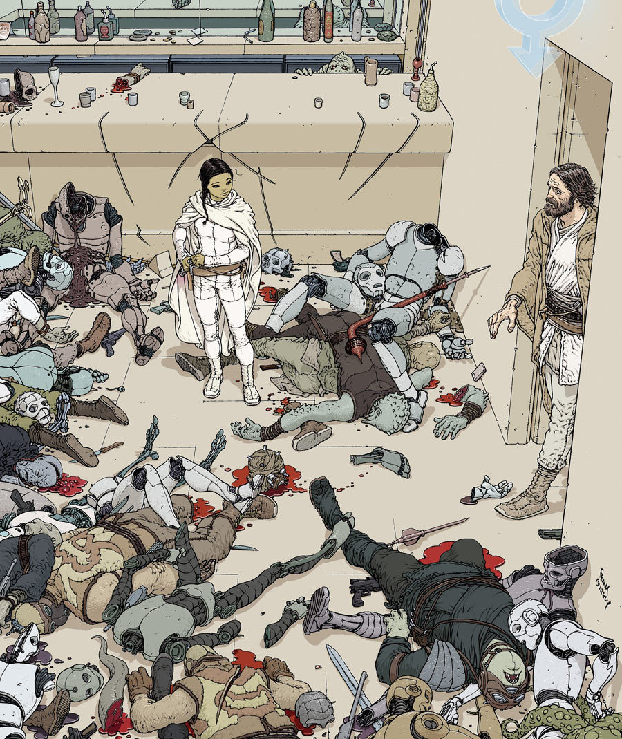 MY PADAWAN by frank quitely (via cbr)