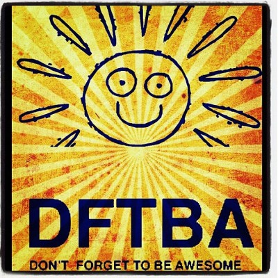 nandoism:  Remember: DFTBA! #100likes #truth #love #nandoism (Taken with instagram)