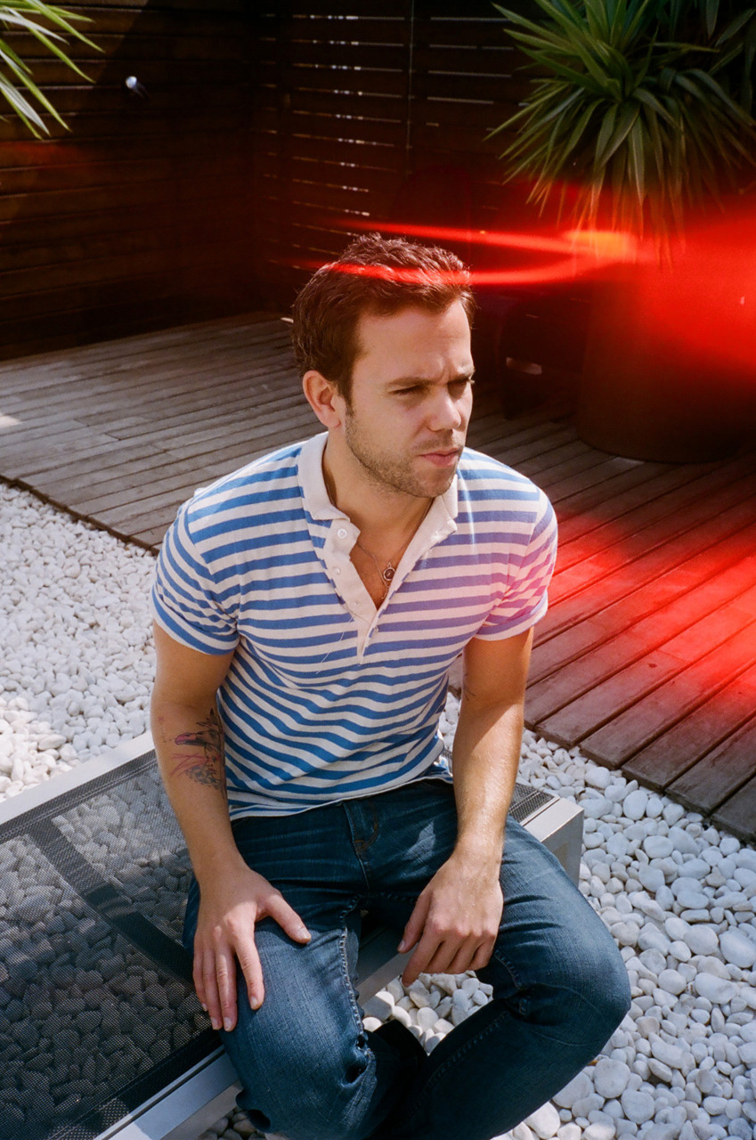 I shot this dude M83 for Vanidad magazine. I've never listened to his music but he was nice!
