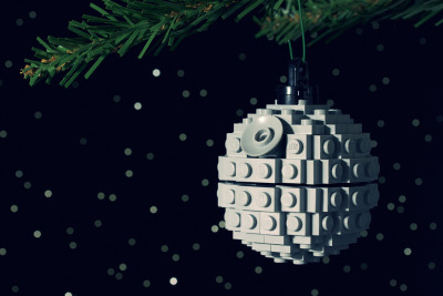"""That's No Moon."" The perfect Christmas ornament by Chris McVeigh, with instructions."