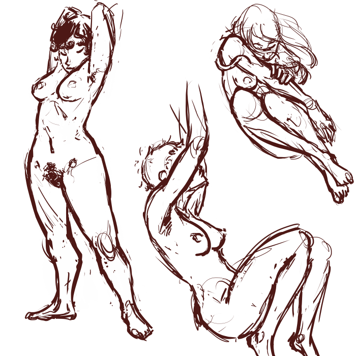 Can I have a job where all I do is draw cute, naked ladies all day? Is that a thing I can do? Because I could do that all day and never be bored of it.