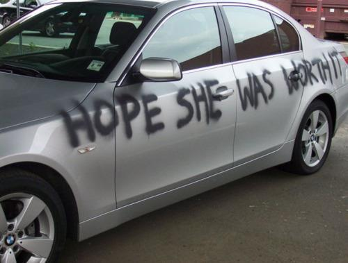 mentaldiversion:  Don't cheat on your girl.Credit: A facebook friend.  Lol :)