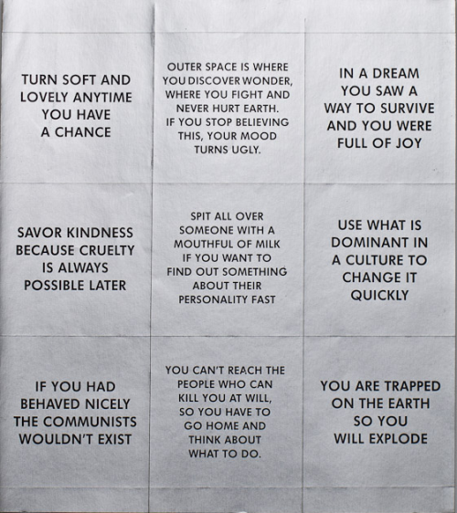 survival series by jenny holzer, 1983-85