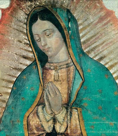 "quelola:  claravoyant:  allaboutmary:  Happy feast day of the Virgin of Guadalupe!Today the Church commemorates one of the most famous and loved of all Marian apparitions.In December 1531 Mary appeared to the Indian St Juan Diego on the outskirts Mexico City. There she revealed herself to be the 'Mother of the True God for whom we live, of the Creator of all things, Lord of heaven and the earth' and left an effigy of herself for all to see and revere.Today the basilica of Our Lady of Guadalupe is one of the most visited religious shrines of Christendom.  Not a religious person, but this is one of my favorite Mexican Catholic traditions. I love the atmosphere - singing, flowers, all the light skinned Mexicans dressed up as indigenous people, hot chocolate and pan dulce… it's a pretty fun evening/morning  As much as I've detached myself from my upbringing the iconic figure that La Virgen de Guadalupe is always something I can appreciate.   I use this day as a way to celebrate my indigenous heritage, since it's something that often gets overlooked in Mexican culture imo. It's also nice to celebrate a symbol of the combination of indigenous and Spanish cultures that ""gave birth"" to our Mexican culture."