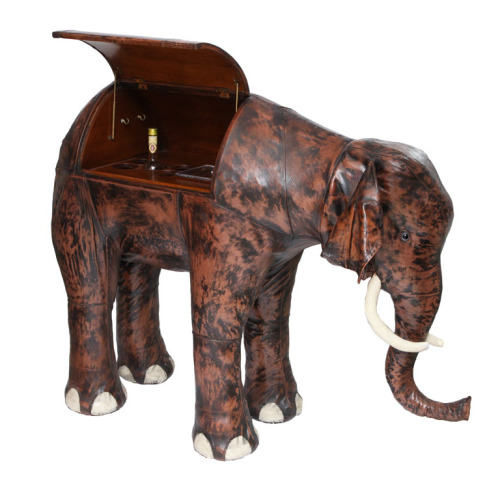 elephant bar designed for Abercrombie & Fitch by Dmitri Omersa