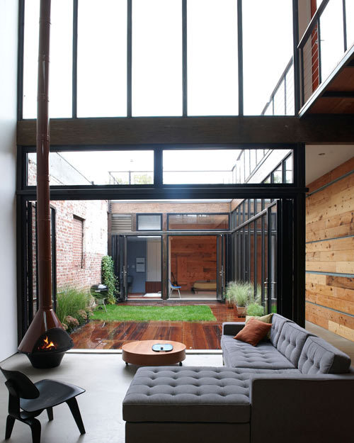theblackworkshop:  Atrium House By MESH Architectures