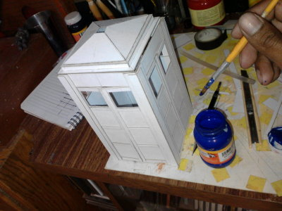 making a tardis model this weekend