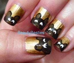 re-visiting the teddy bears manicure