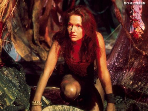 Louise Jameson en On the brain