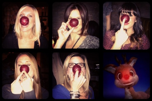 Girls Night - Rudolph Edition. Merry Christmas!