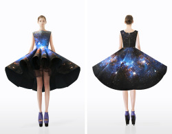 haracas:  This is beyond amazing - Setareh Mohtarez galactic dress