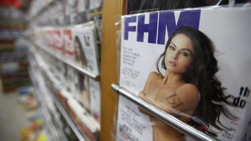 "marxist-feminism:  Can You Tell The Difference Between A Men's Magazine And A Rapist?  Well, this is upsetting. According to a new study, people can't tell the difference between quotes from British ""lad mags"" and interviews with convicted rapists. And given the choice, men are actually more likely to agree with the rapists. [x]  My friend and I are repulsed by these results. I can't talk about it anymore. However, I would like to share this with you so you could share it with other people. Take the quiz and make others take the quiz, too."