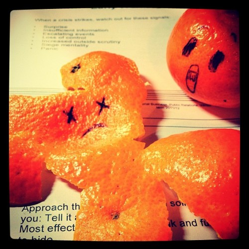 Life can be tough #food #orange #funny #random #studying #bored #life  (Taken with instagram)