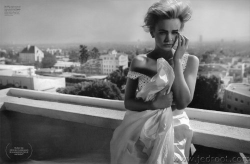 Carey Mulligan for W Magazine January 2012 Photographer - Michael Thompson