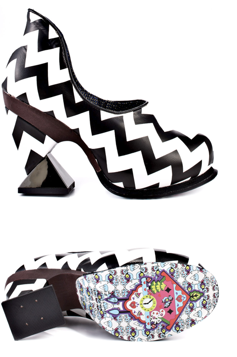 Brand: Irregular Choice Model: Botoxic Click here to buy this shoe!