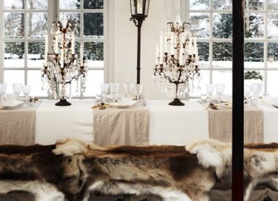 thedecorista:  fur…dining…love