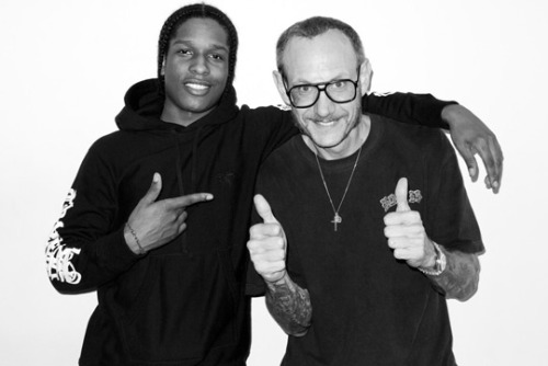 Terry Richardson Shoots ASAP Rocky In the end of the day, Terry Richardson gets them all in front of the lense. After shooting ASAP Rockyalready a while ago for the Happy Socks Campaign, the two got together once again before the holidays. From the usual portrait shots to the 'ASAP Rocky As Me' version, the New York photographer did a full shoot, also featuring ASAP Yams.