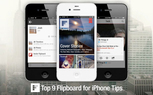 Nine Ways That You, Too, Can be a Flipboard for iPhone Power User   (via Nine Ways That You, Too, Can be a Flipboard for iPhone Power User | Inside Flipboard)