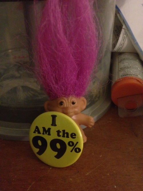 Roy the troll is part of the 99%