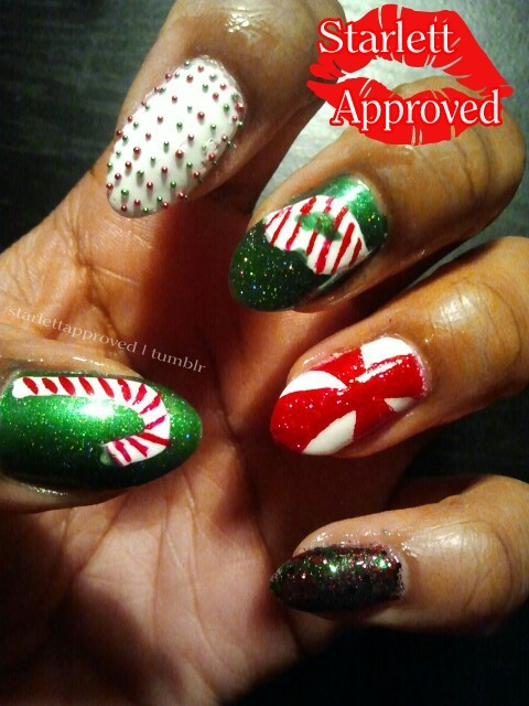 12 Days Of Christmas Day 4 - Candy Canes Sorry my peppermint kiss is upside down