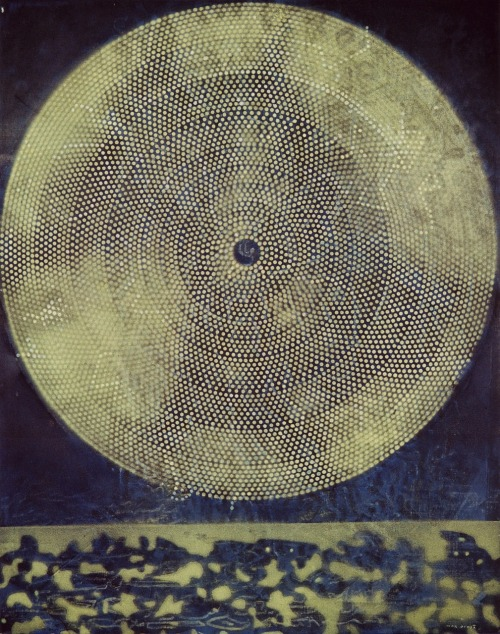 """Birth of a Galaxy"" by Max Ernst 1969"