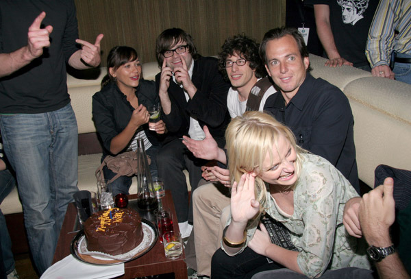 Rashida Jones, Ben Gibbard, Andy Samberg, Will Arnett and Amy Poehler