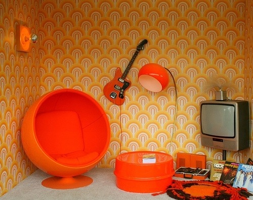 Ode to Tangerine Tango, Pantone's 2012 colour choice