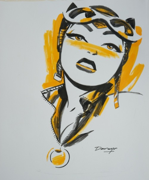 nanigasy:  Darwyn Cooke - Catwoman  Hey, DC, look: you can make Selina sexy without resorting to T&A (and a grossly distorted version of same, at that).
