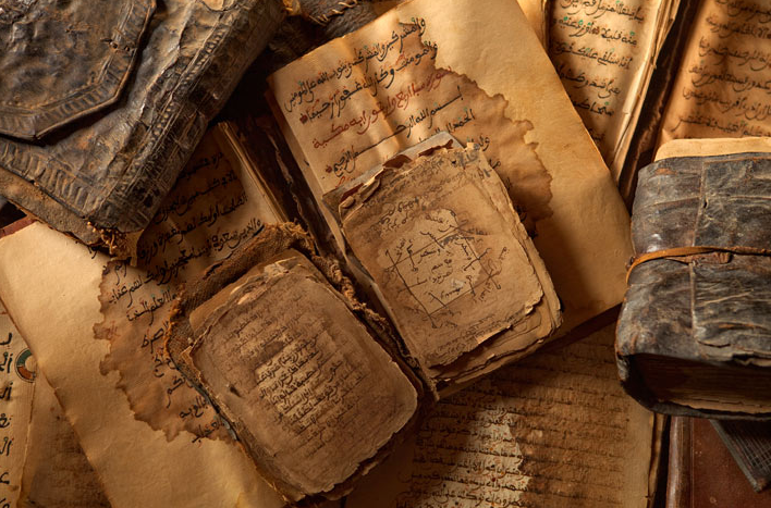 poeticislam:  Old Islamic manuscripts found in Timbuktu.  Taken by Brent Stirton