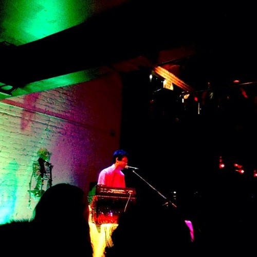 thenewblack:  Avey Tare @ The New Parish #Music #Oakland #LoveThis (Taken with instagram)