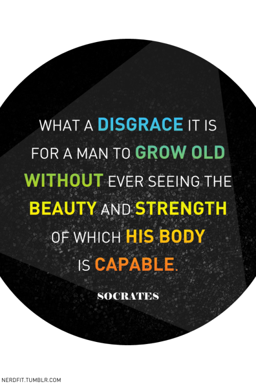 Not many people know about Socrates intense love for squats.