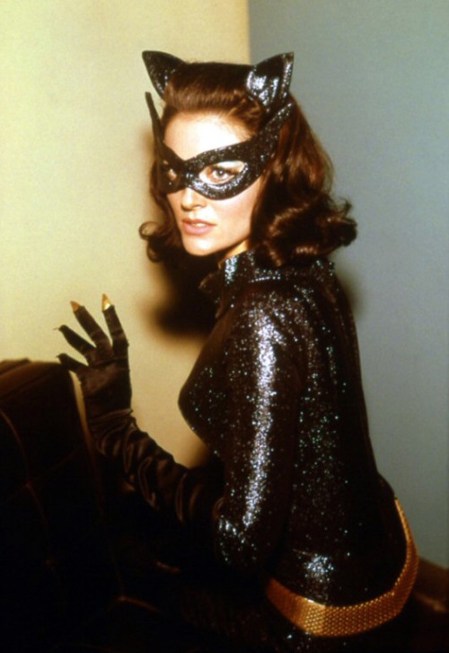 Lee Meriwether as Catwoman in the Batman film (1966)