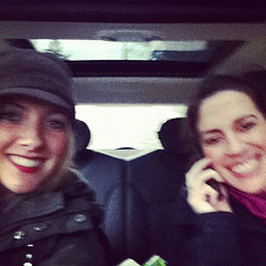 Back to Seattle and picked up a hitch hiker. #sisters