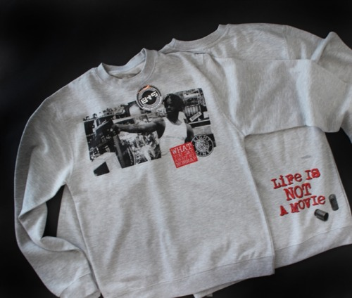 8and9:  Not A Movie Menace To Society Crewneck Sweatshirt