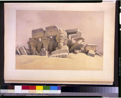 mmccv:  Lithographs of Egypt and the Near East by David Roberts, (1838–1840). Click through images for larger sizes.