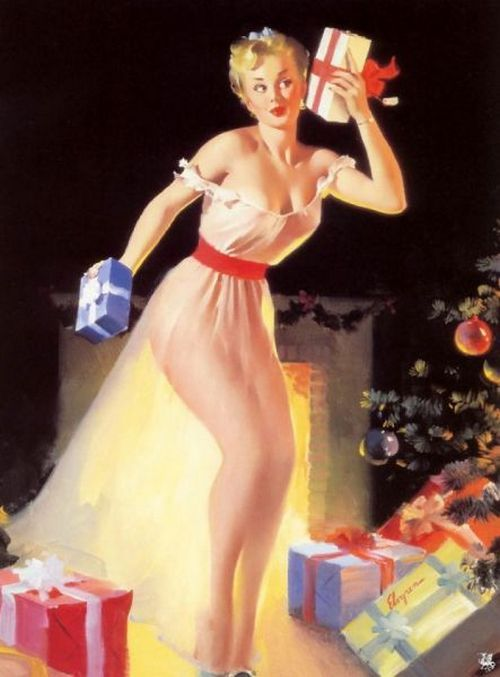 1950's by Gil Elvgren theniftyfifties: