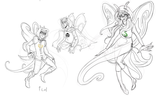 nightmarewing:  Doodles, playing around with god tier designs blah blah.