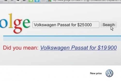 Did you mean: Volkswagen Passat for 19 900
