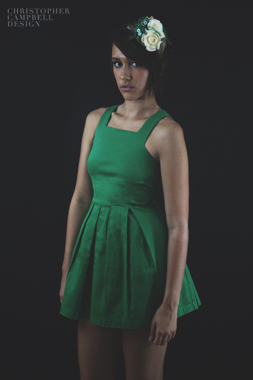 Spring/Summer Café Green+ Dress https://www.facebook.com/official.christophercampbell