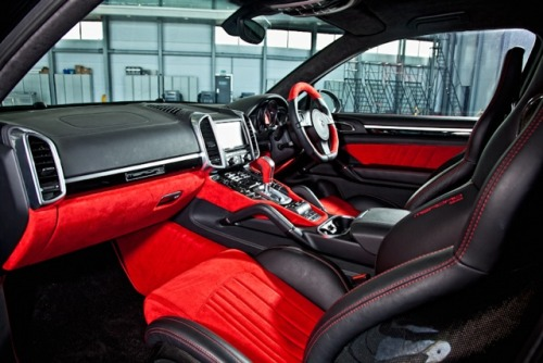 Another interior shot of our Cayenne Coupe