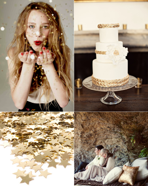 "stefansistersbridal:  Today at the Stefan Sisters ""Gold Rush"" Visit us for more!"