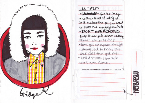 london sketchbook bridget + note taking
