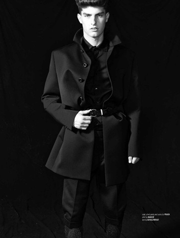 Paolo Anchisi in WestEast Men Fall 2011 by Kristina Wilson